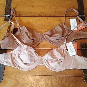 NWT Gilligan and O'Malley unlined bras
